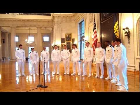 """Naval Academy """"Anchormen"""" Tribute to 9/11-""""Hole in the World"""" by The Eagles"""