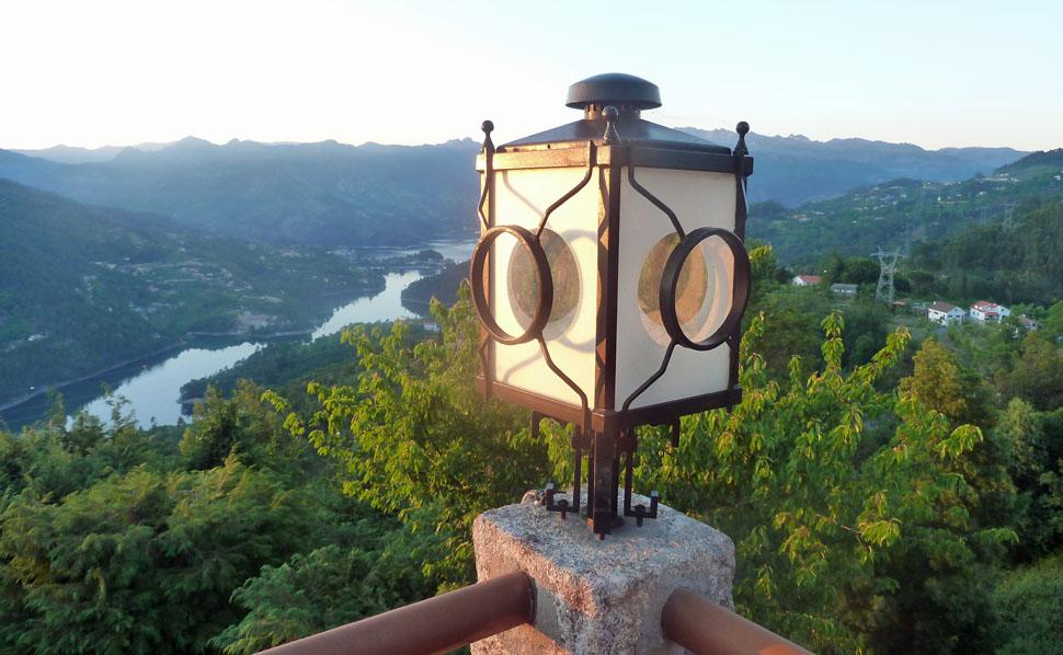 Blick auf den Nationalpark Geres, Minho