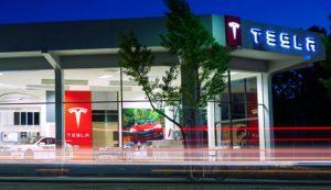 Tesla-Händler