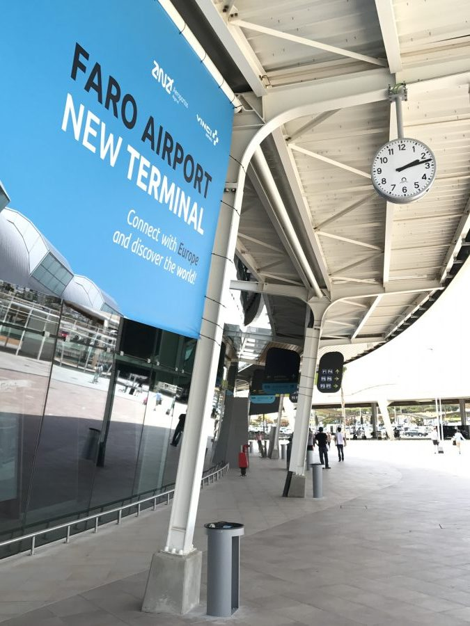 Flughafen Faro neues Terminal Juli 2017
