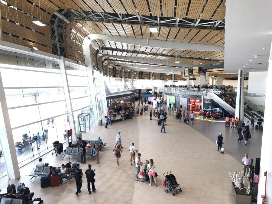 Flughafen Faro Algarve neues Terminal Juli 2017