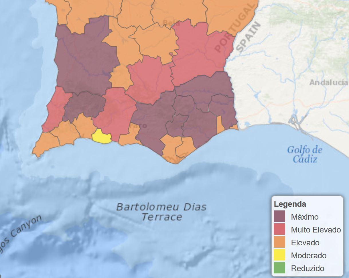 Waldbrände Portugal Karte.Waldbrände Und Beben Erschrecken Portugal Algarve Für Entdecker