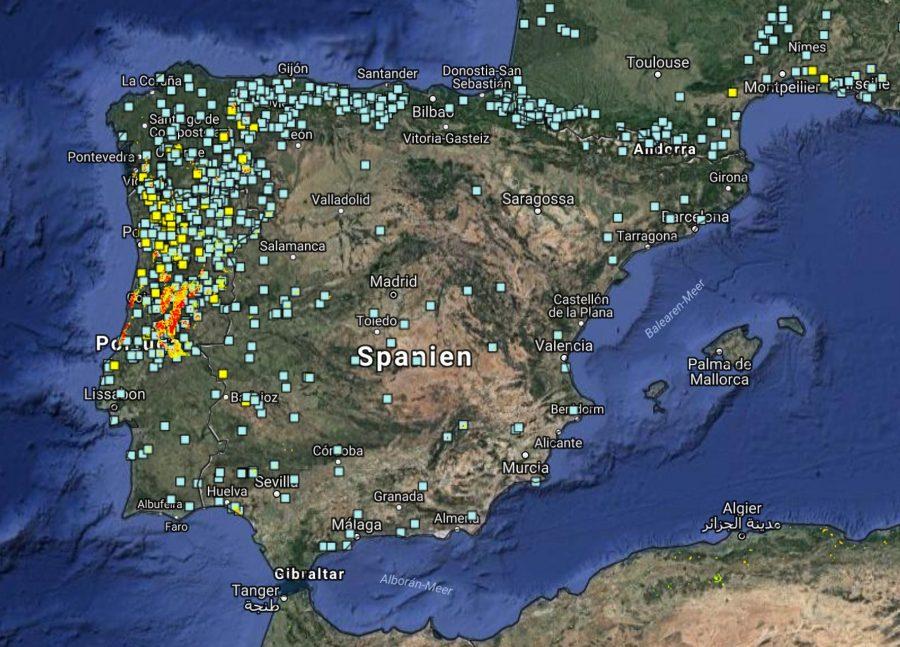 Waldbrände Portugal Karte.Verheerende Waldbrand Bilanz 2017 Algarve Für Entdecker
