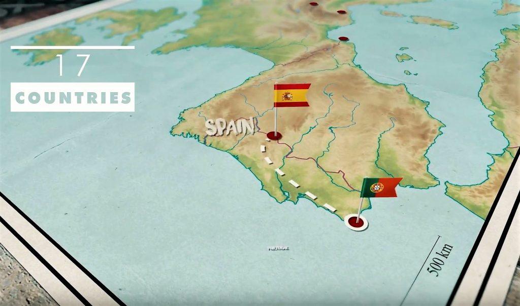 Abenteuer Wandern mit Projektstart von Deux pas a l'autri in Sagres an der Algarve