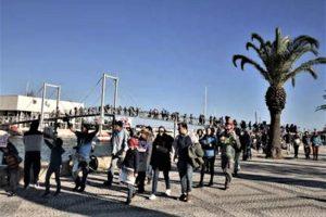 Algarve News zu Protesten gegen Ölbohrplänen vor Aljezur an der Nordalgarve