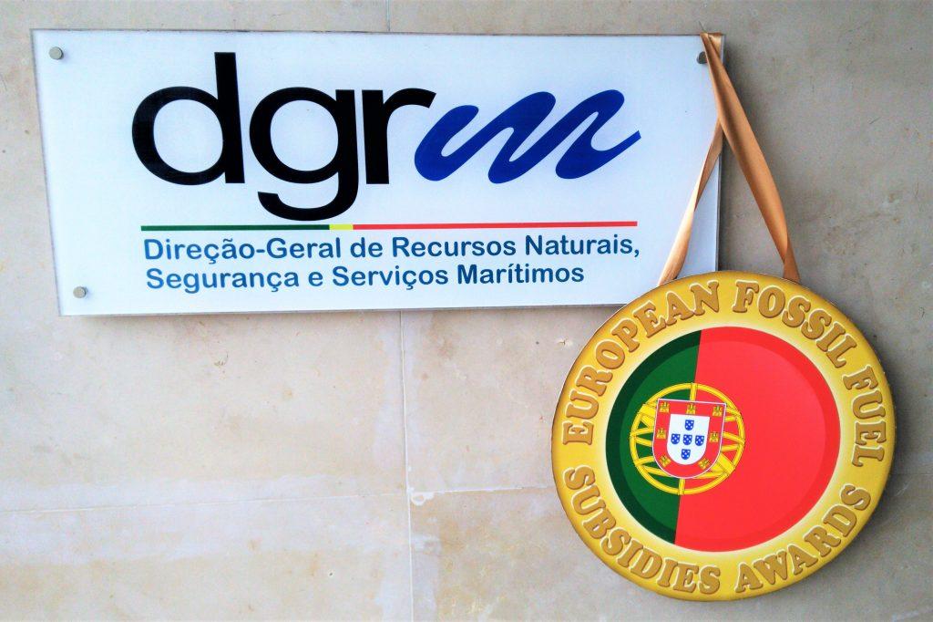 Ölbohrprojekt in Portugal erhält Negativ-Auszeichnung als schlimmste Subvention fossiler Brennstoffe