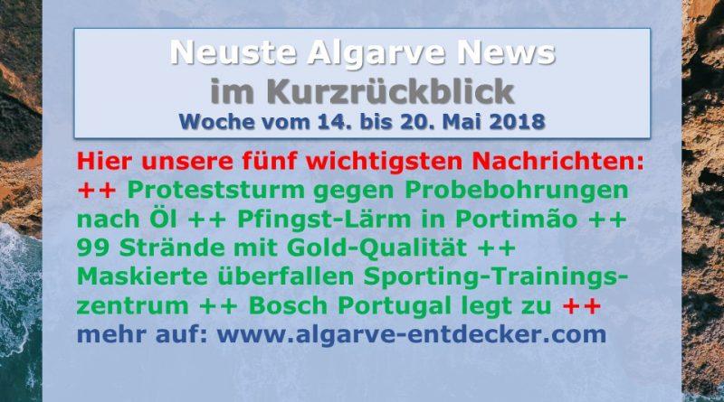 Algarve News KW 20 vom 14. bis 20. Mai 2018