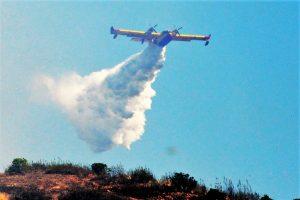 Dauerbrenner Algarve-Wadlbrände: Löschflugzeuge im Einsatz