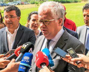 Algarve-Hitze erhöht im August 2018 die Waldbrandgefahr, so Innenminister Eduardo Cabrita