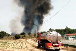 Hitzerekorde in Portugal führen zu verstärkter Brandgefahr