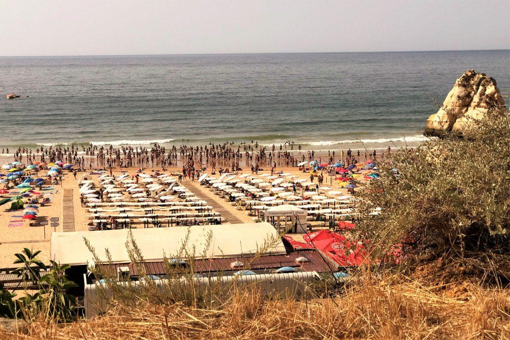HItzerekorde an der Algarve bei 20 Grad kühlem Atlantik-Wasser