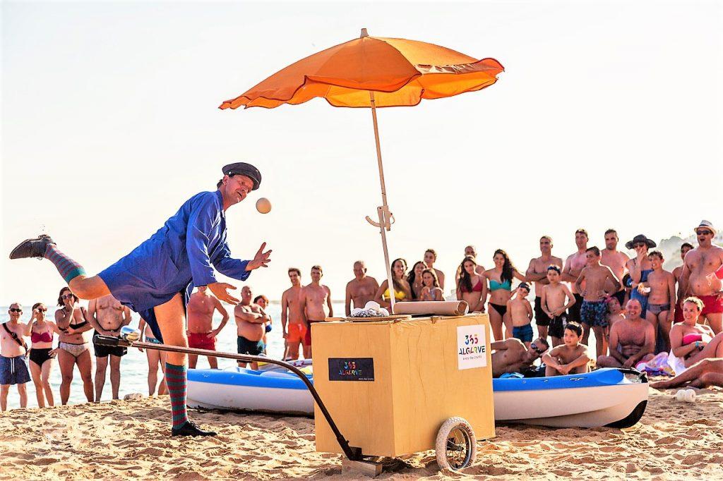 Kultur im Programm 365 Algarve ist auch Thema an den Stränden in Portugal