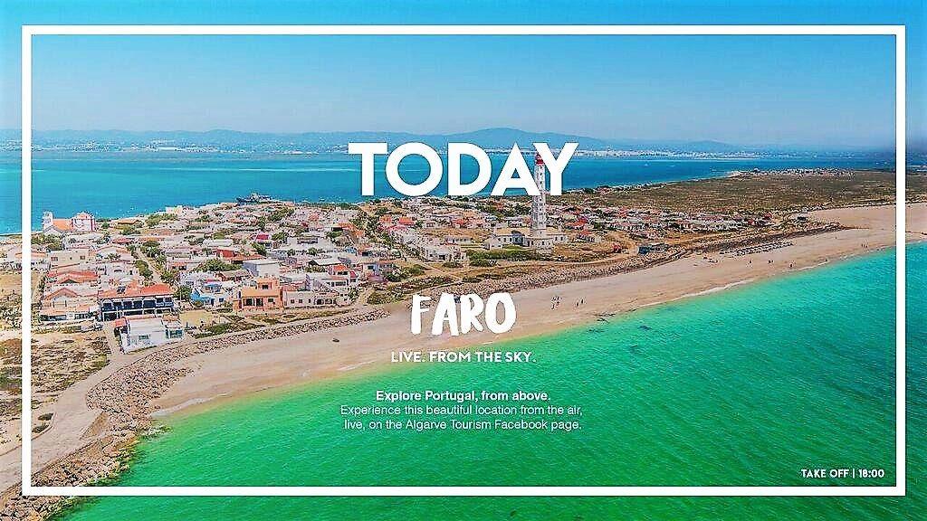 Drohnenflüge über Algarve mit Live-Streaming sind neue Form der Tourismus-Werbung