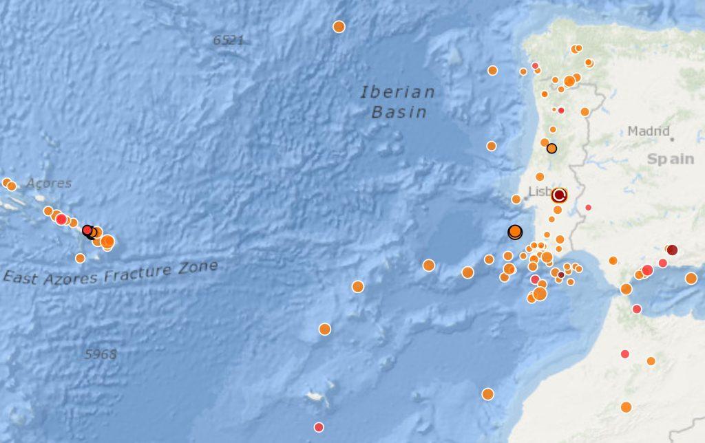 Erdbeben gehören mit leichteren Erdstößen unterhalb der Stärke 3 zum Alltag in Südwesteuropa