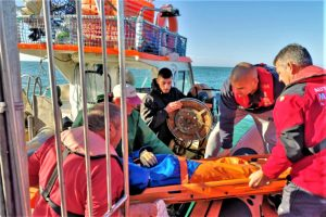 Algarve News über Rettung von Fischer durch Wasserschutzpolizei