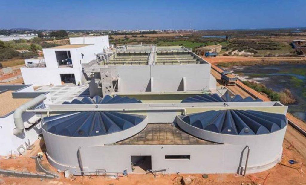 Algarve News über neue Kläranlage Faro-Olhao,