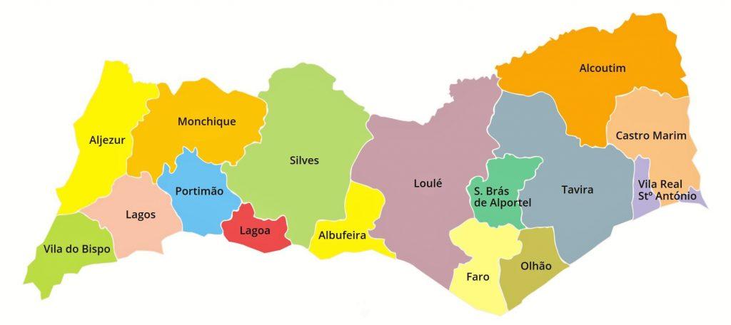 Städtetipps müssen die Kreisstädte der Algarve berücksichtigen