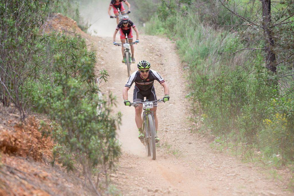 Algarve-März mit Bike Challenge der Mountainbiker