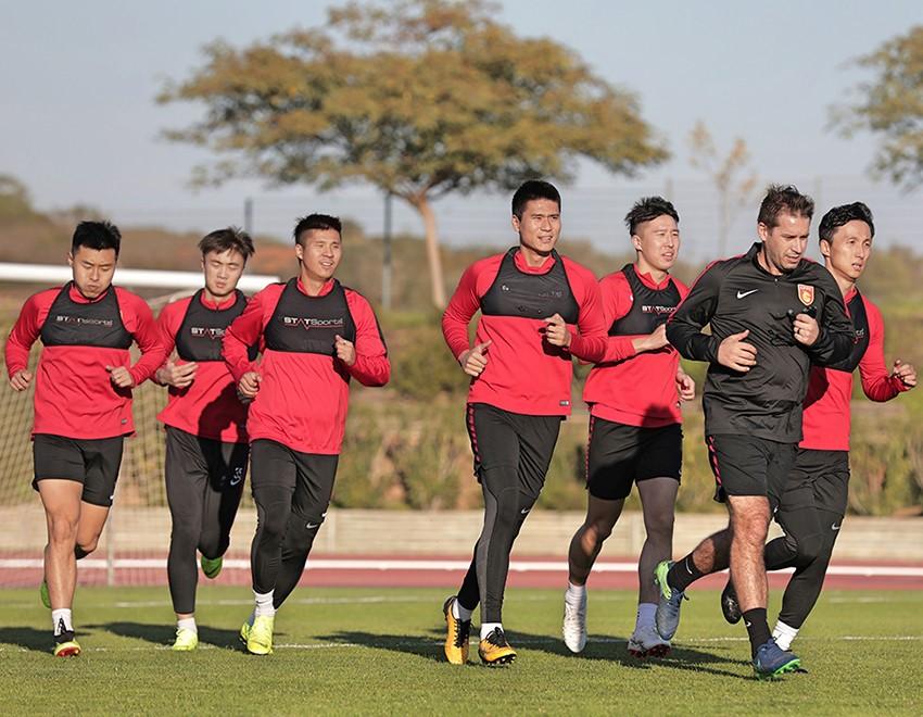 Algarve News zu Wintertrainingslager von chinesischem Top-Fußballklub