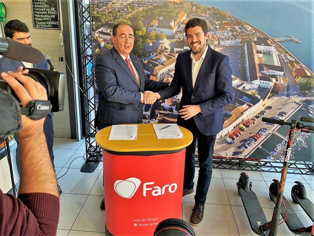 Algarve News über Elektro-Tretroller in Fato an der Algarve