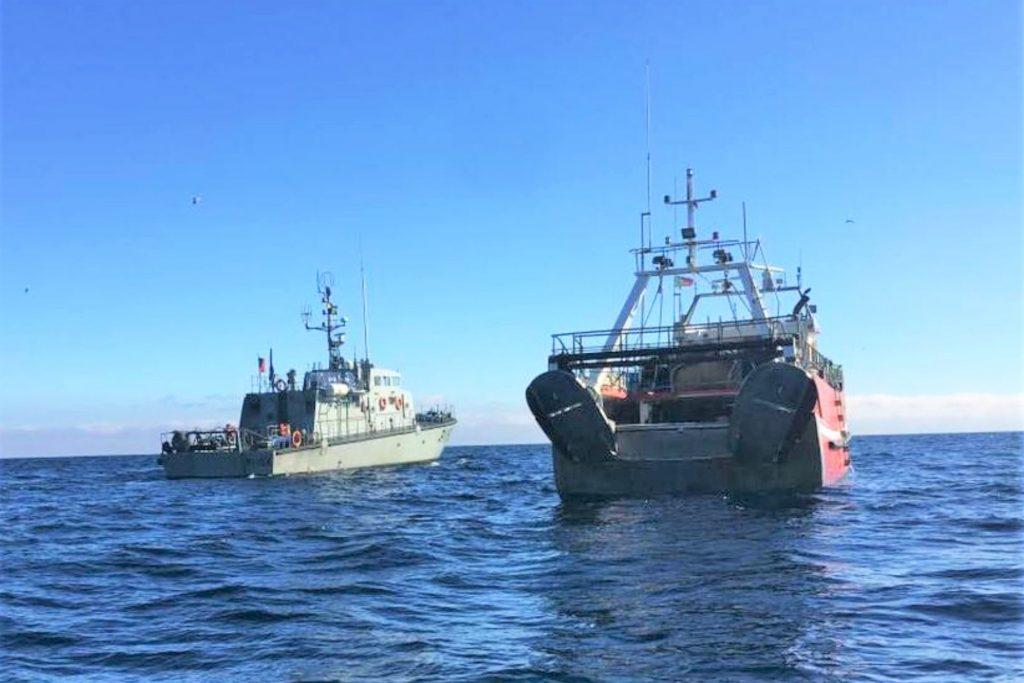 Algarve News zu Marine-Einsatz gegen illegale Fischerei