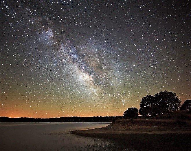 Alqueva-Stausee bietet nachts einen beeindruckenden Sternenhimmel