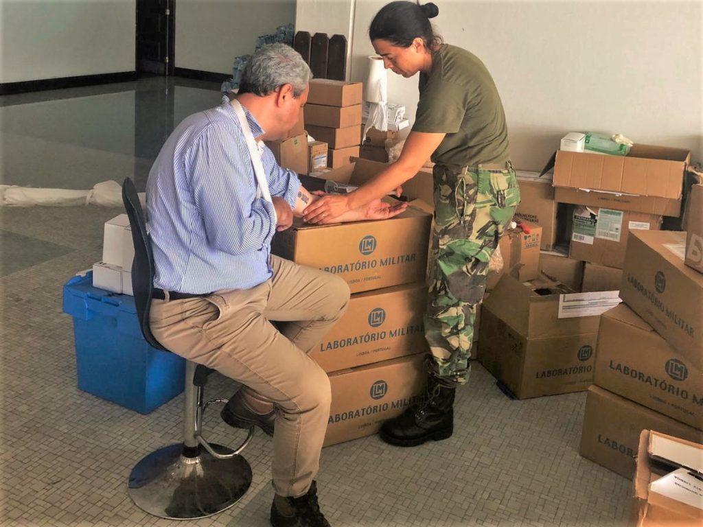 Algarve News über portugiesische Nothilfe in der Mocambique-Stadt Beira
