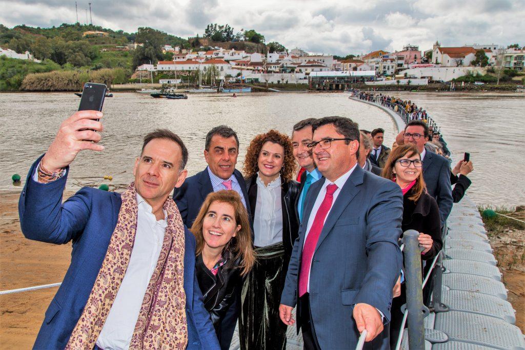 Brückenbau interessiert Prominenz in Portugal und Spanien