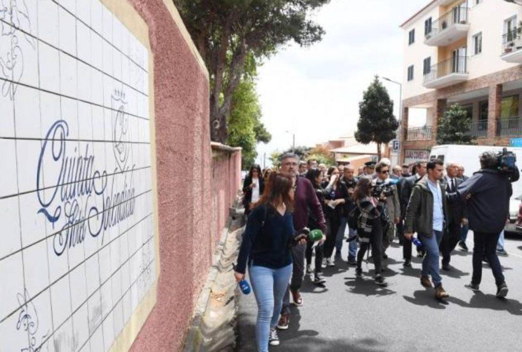Karfreitag besucht Portugals Präsident deutsche Betroffene des Busunglücks auf Madeira im Hotel