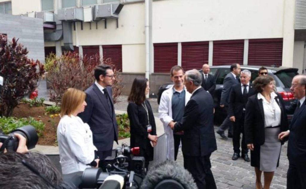 Karfreitag war Portugals Präsident im Krankenhaus von Madeira
