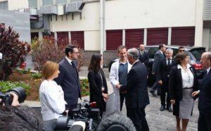 Reiseleiterin des Unglücksbusses besucht von Portugals Präsident im Krankenhaus von Madeira