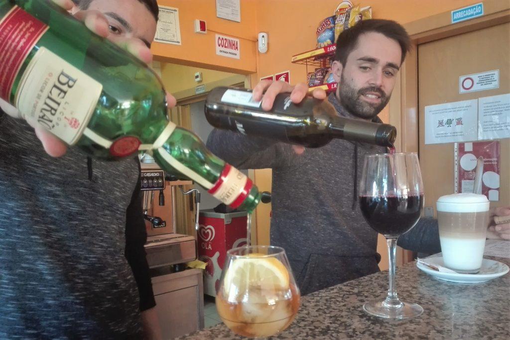 Conquista-Snackbar in Portimao neu am Start mit Service für Deutsche