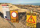 An beliebtem Algarve-Strand stoppen Dünenarbeiten