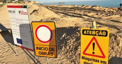 Dünenarbeiten im Algarve-Ort Alvor für den Sommer gestoppt