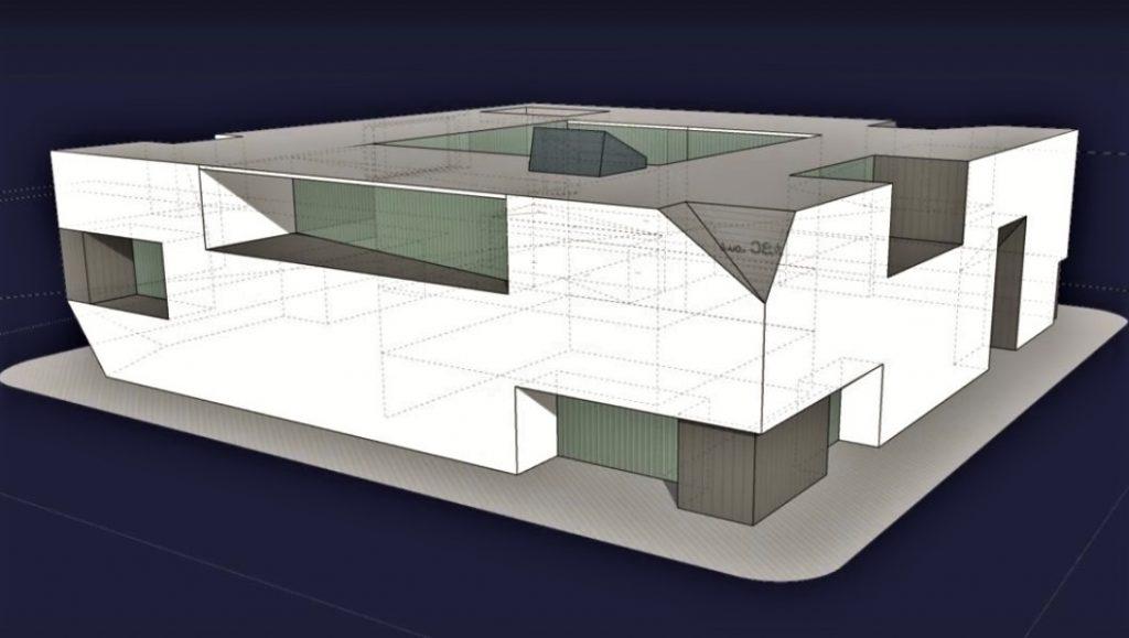 Gesundheits-Zentrum in Loule bereits architektonisch skizziert