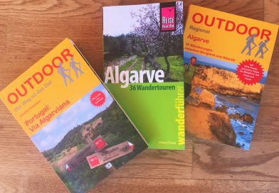 Wanderführer für die Algarve im Vergleich