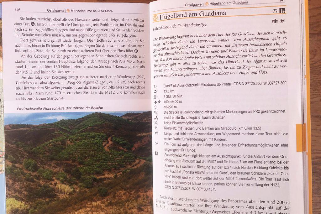 Wanderführer zur Via Algarviana an der Algarve im Touren-Vergleich