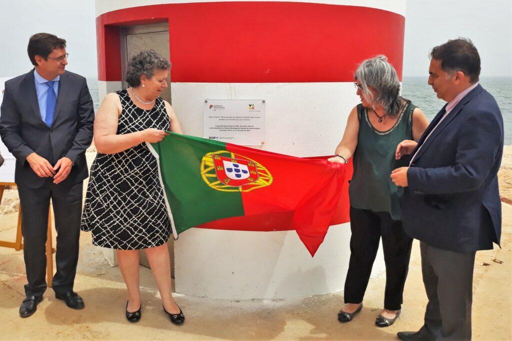 Algarve News zu Wellenbrecher in Vila Real de Santo António