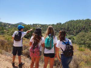 Algarve News über Jugendliche als Naturwächter in der Waldbrand-Verhütung