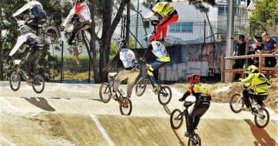 BMX Radsportler finden immer bessere Strecken an der Algarve