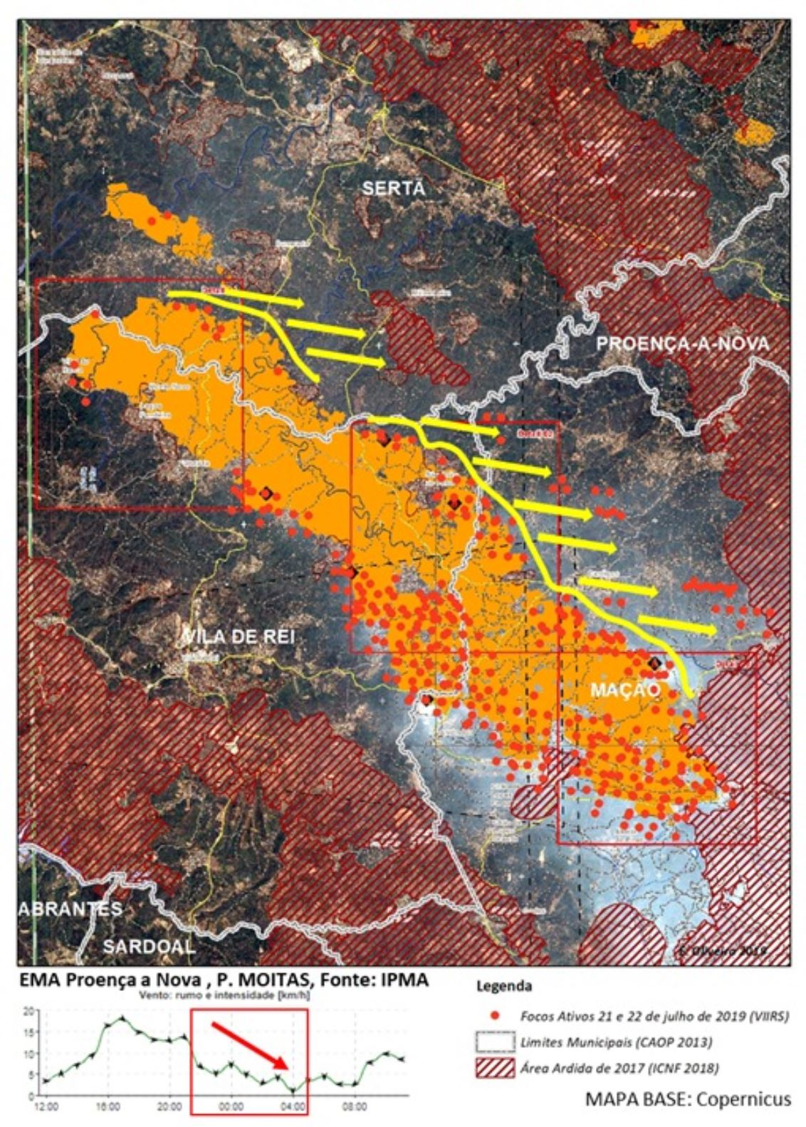 Waldbrände Portugal Karte.Portugal Waldbrände Wetterprognose Beunruhigt Am Montag Algarve