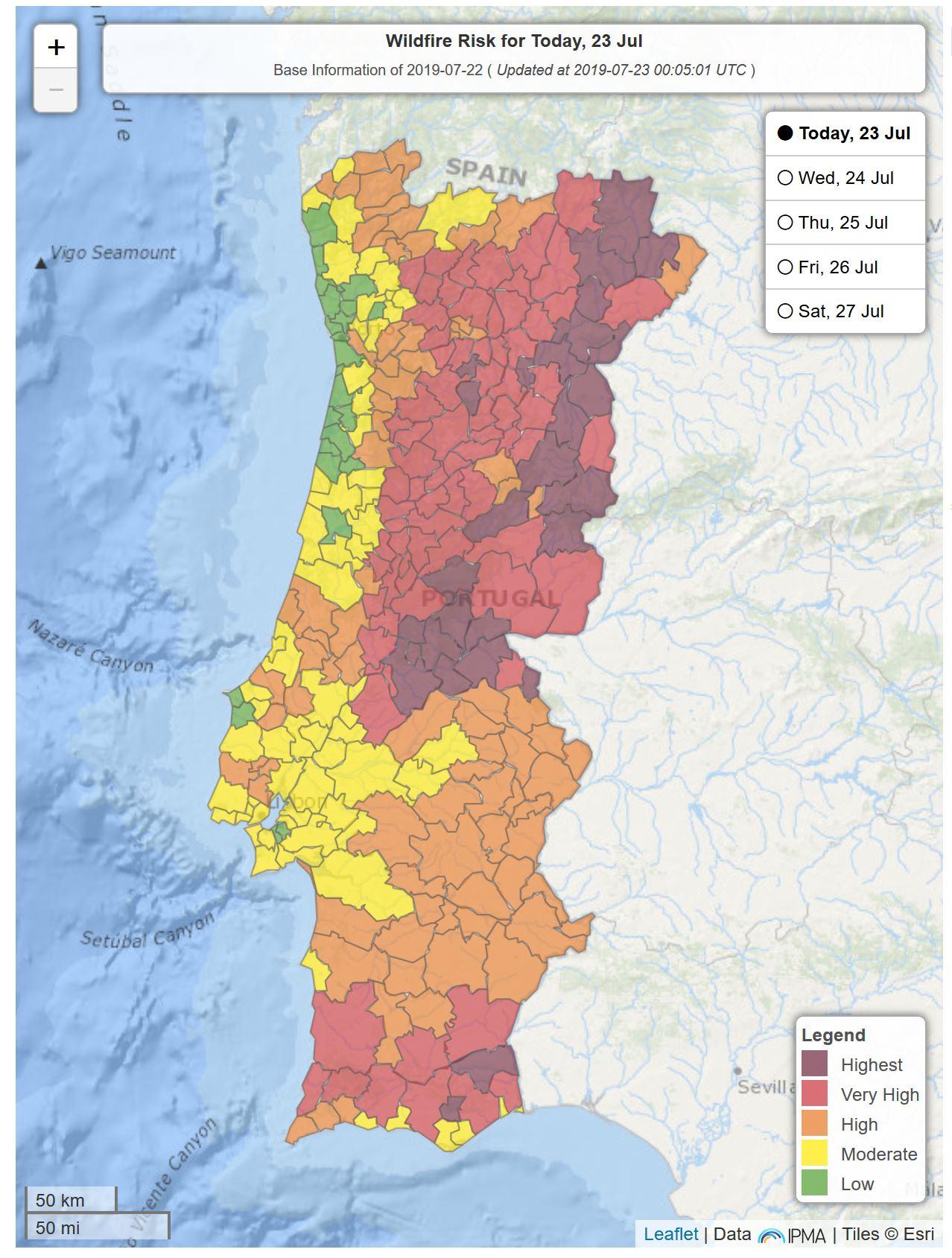 Portugal Kampft Schon Vier Tage Gegen Die Waldbrande Algarve Fur