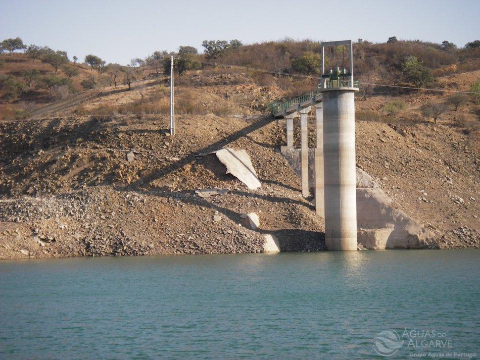 Wasser sparen ist wegen niedriger Talsperrenstände an der Algarve nötig