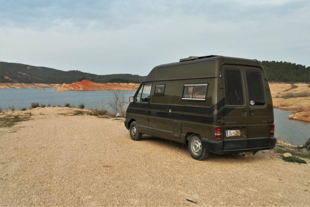 Julia W war mit Camper Van aus Österreich in Europa und an der portugiesischen Algarve unterwegs