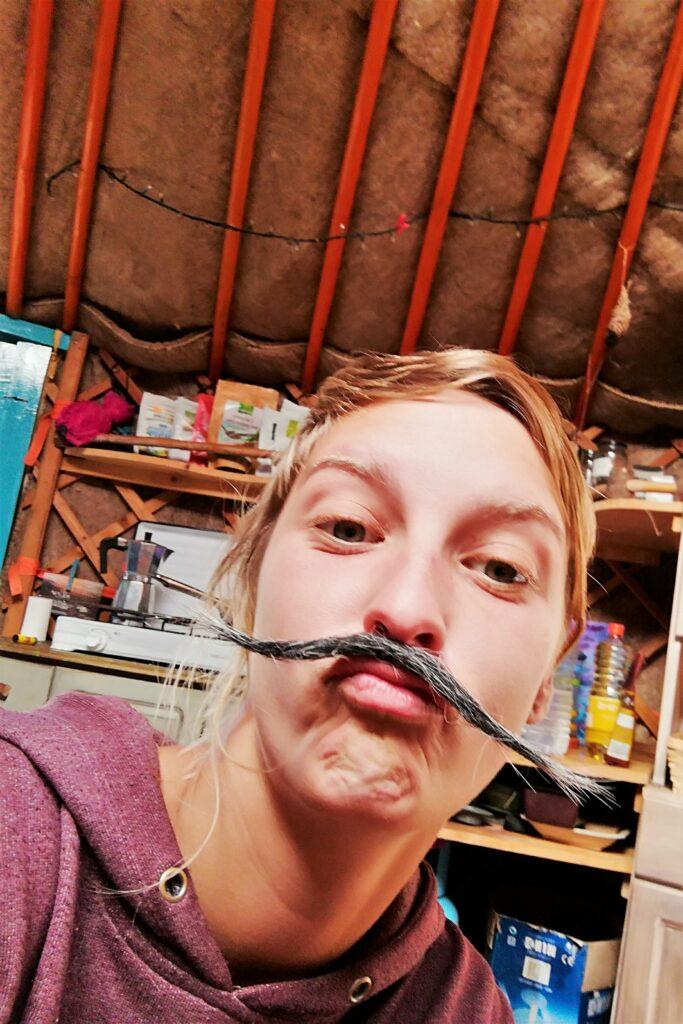 Julia W. gilt in ihrer Familie als Spaßvogel und mag Verkleidung