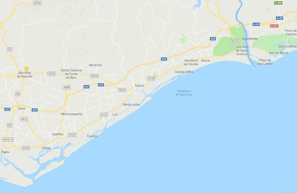 Muxama besonders beliebt an der Ost-Algarve zwischen Olhao und Vila Real de Santo Antonio