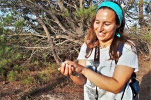 Naturtouristen und Vogelbeobachter strömen im Herbst in Scharen an der Algarve