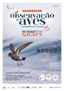 Naturtouristen und Vogelbeobachter treffen sich im Oktober in Sagres an der Algarve
