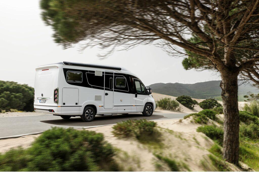 Algarve-Camping in den Dünen in Portugal