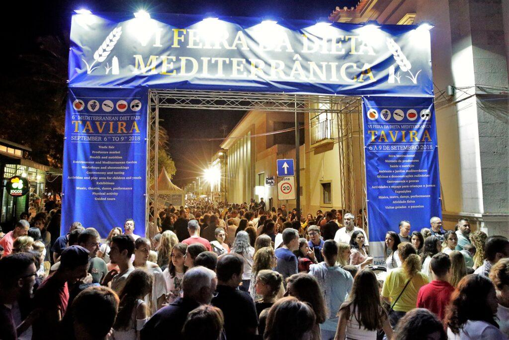 Algarve-September 2019 mit Messe der Mittelmeer-Diät in Tavira